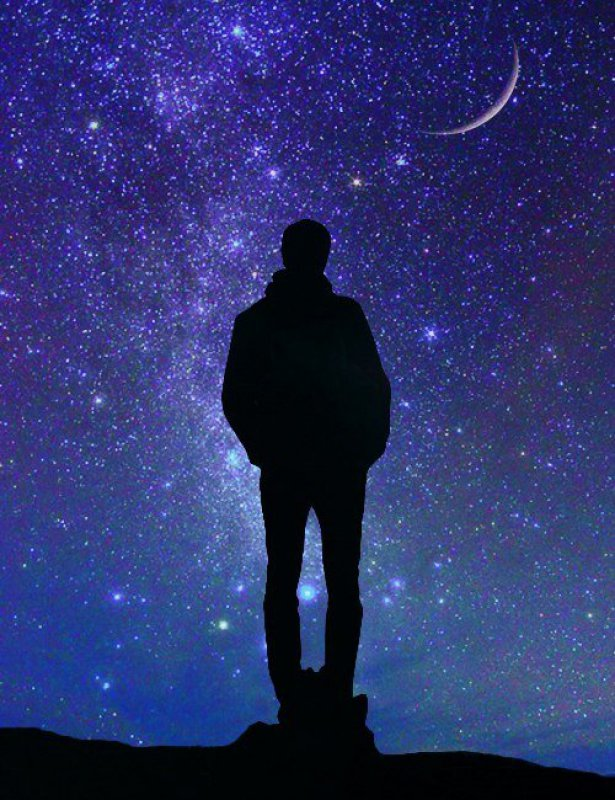 окружали поклонники, картинки людей смотрящих на небо пришел мой
