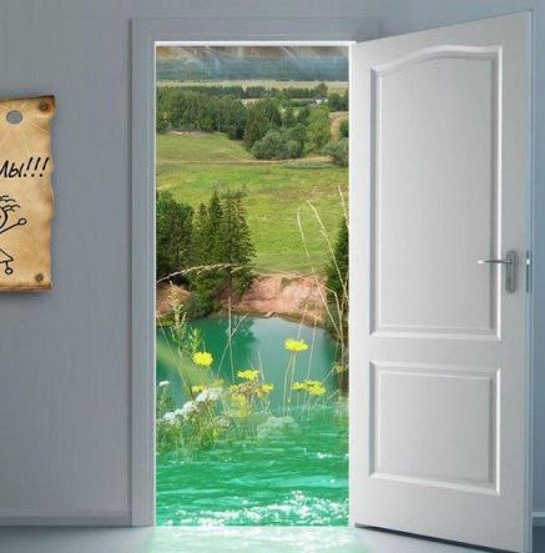 Картинка дверь в счастье